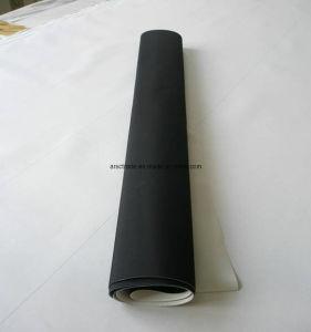 La impresión de billetes Intaglio negra mantilla de caucho