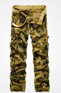 2015 ultimo Camouflage Cargo Pants con Highquality per Men