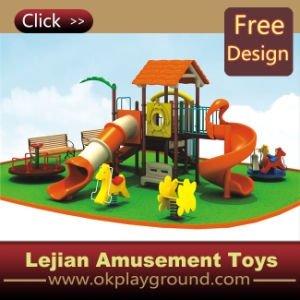 CE Wonderful Kids Playsets Outdoor Plastic Playground (12084A)