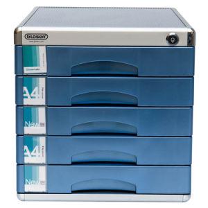 금속 5 서랍 Lockable 사무실 표준 파일 저장 장소 내각