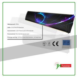 Solução de aquecimento por infravermelhos para toldos