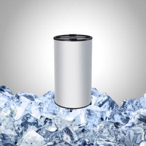 Barril de cerveja geladeira com porta de vidro