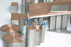 Staaf van het Aluminium van het titanium de Beklede