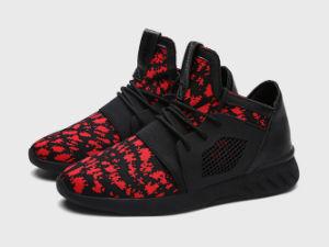 Los hombres de color rojo zapatillas deportivas
