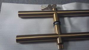 Vidro corrediço de porta dupla (FS-242)