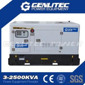 60kVA tipo Canopy UK Perkins 1103A-33tg2 gerador diesel