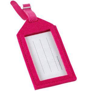 Promoción de la ventana de PVC de alta calidad sintió Etiqueta de Equipaje (F-077)