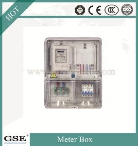 Transmissão transparente na placa de distribuição de pré-pago da caixa do medidor monofásica Caixa de Circuitos do IP43