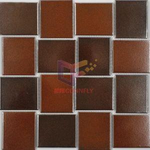 Каштановый цвет керамической мозаики для металлических стиле (ЛЖД08)