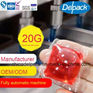 Automatique pour un détergent liquide Pod, OEM et ODM Super Concentration Blanchisserie détergent liquide, l'eau Souble faible odeur de parfum et la mousse de détergent liquide
