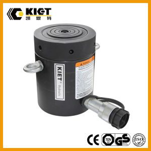 70MPa 압력을%s 가진 단 하나 임시 알루미늄 로크 너트 액압 실린더