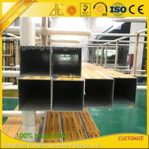 grande tubo quadrato di alluminio di 100*100mm per Windows ed i portelli
