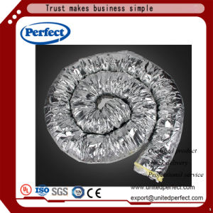 Flexible de aluminio con aislamiento de fibra de vidrio por conducto de aire HVAC & sistema hidropónico