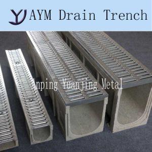 En1433 оцинкованных штамповки металлическую крышку полимерные конкретные слейте масло из борозды