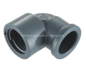PVC 90 degrés de l'eau coudé femelle raccords de tuyaux de pression d'alimentation de la norme DIN NBR5648 (T07)