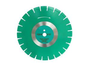 Laser verde de hormigón y asfalto Hoja de sierra de corte