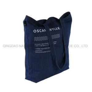 Jeans-Tuch-Denim-Einkaufstasche Schulter-Beutel-/Handbag-/Washable/Tote-Beutel