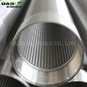 Form-Keil-Draht-Bildschirm des Qualitäts-Edelstahl-304/Wasser-Quellfilter