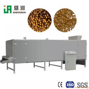 Fisch-Nahrungsmittelzufuhr, welche die Produktion aufbereitet Strangpresßling-Einheit-Maschinen-Zeile bildet