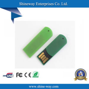 Мини-скрепки флэш-накопитель USB с индивидуального логотипа