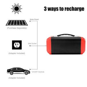 Nouvelle batterie de stockage portable alimenté par générateur d'alimentation 300W