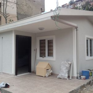 Les matériaux de construction de maison préfabriquée oxyde de magnésium MGO Conseil ignifugé