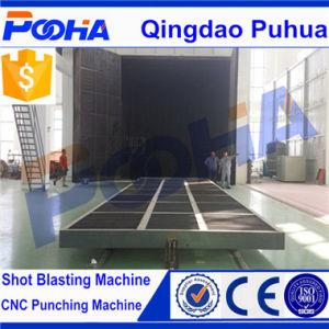 Abrasivos automática de chorro de arena de reciclado Sala (Q26).