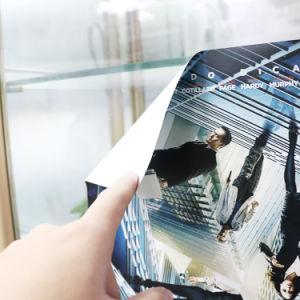 卸し売りカスタム印刷された装飾的なガラスによって浮彫りにされるステッカー