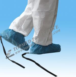Anti coperchio statico a gettare non tessuto del pattino con ESD Ribben