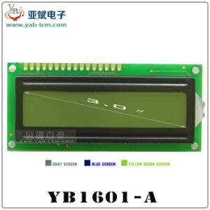 Schermo della matrice a punti dei caratteri di Yb1601A, modulo del display a cristalli liquidi dell'affissione a cristalli liquidi