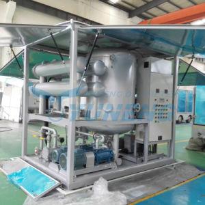 Un buen rendimiento de aceite de transformador de aislamiento de la Máquina purificadora