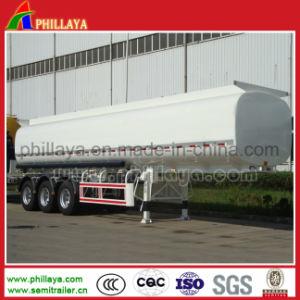 Dell'Tri-Asse 42cbm del acciaio al carbonio semi del combustibile dell'autocisterna del serbatoio del contenitore rimorchio del camion semi