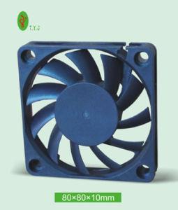 80X80X10mm DCの軸冷却ファン8010 ULのセリウムのRoHS 5V 12V 24V 48Vのブラシレス換気扇Tyj