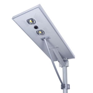 Todo en un sensor de movimiento de energía solar Calle luz LED