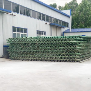 직업적인 제조자 이음쇠를 가진 섬유유리에 의하여 강화되는 플랜지 관