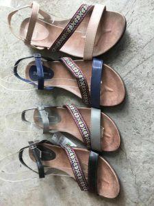 Mode Femmes Sandales plates, Talon plat sandale fashion robe de la femme, 10000paires