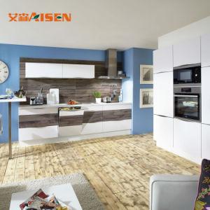 2018 Nova montagem da melhor qualidade de pacote novo padrão armário de cozinha brilhante