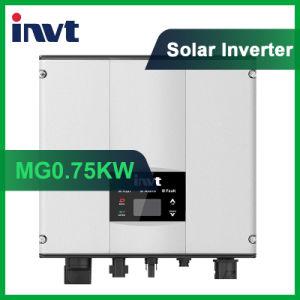 Invertitore fotovoltaico Griglia-Legato di monofase di serie 750With0.75kw del magnesio di Invt