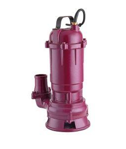 하수 오물 잠수할 수 있는 펌프 단일 위상 220V 50Hz는을%s 가진 절단 시스템을 가위로 자른다