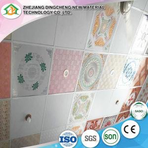 595*595mm/panneau de plafond PVC tuiles 600/603 DC-31