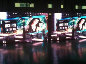 P4 mm Indoor Afficheur à LED pour des performances multimédia
