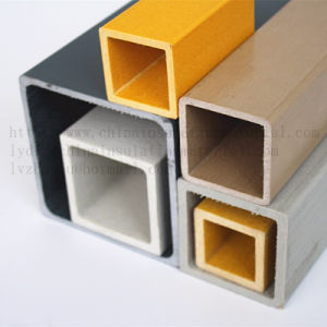 ISO ApprovedのプラスチックExtrusion Tubing Manufacturer FRP Square Tube