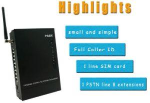 Беспроводной телефонной системы Soho АТС 1 линии 8 добавочных номеров с 1 GSM