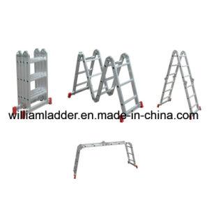 ladder van de Steiger van het Aluminium van de Ladder van 3.7m de Multifunctionele Vouwende Op zwaar werk berekende