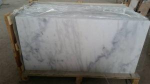 De Witte Marmeren Plakken van China Carrara voor Bevloering, Countertops (yy-MS8975)