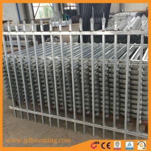 Valla de seguridad de nivel superior de lanza de aluminio