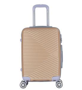 Estuche rígido de calidad de la maleta de viaje ABS equipaje con el bloqueo (XHA196)