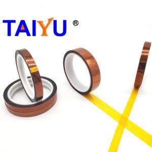 Pi de poliamida de alta temperatura de color ámbar de cinta para la batería de litio
