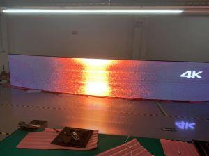 Visualizzazione di LED impermeabile sottile eccellente esterna di alta luminosità della visualizzazione di LED di colore completo P4 IP67 per l'alta visualizzazione di LED locativa della fase di definizione