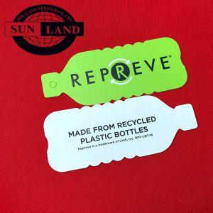 Eco friendly Solid teñido 100 Reciclar Unifi Repreve Poliéster TEJIDO Interlock